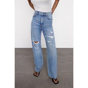 Zara The 90's Full Length Jeans